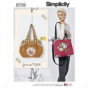 8709 Simplicity Pattern: Tote Bags